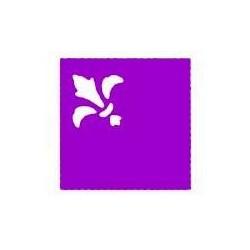 Ozdobny dziurkacz(puncher) do papieru narożny motyw Fleur de Lis