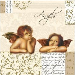Serwetki do decoupage - Angels Rafaelki