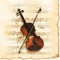 Serwetki do decoupage - skrzypce