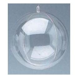 Bombka - kula transparentna 80 mm