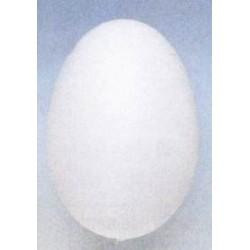"""Jajko plastikowe białe """"kurze"""" 6 cm"""