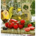 Serwetki do decoupage - pomidory i oliwa