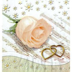 Serwetki do decoupage - Herbaciana Róża