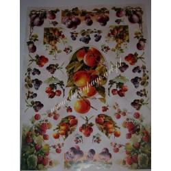 Papier Celina do decoupage 50 x 70 cm Fruit