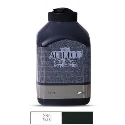 Farba akrylowa Cadence 70 ml 0002 czarna