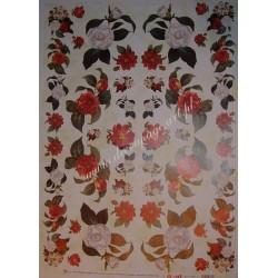 Papier Celina do decoupage 50 x 70 cm Camelia