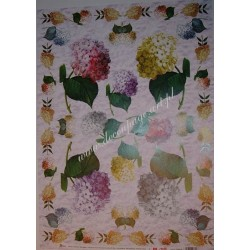 Papier Celina do decoupage 50 x 70 cm Hydrangea