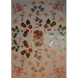 Papier Celina do decoupage 50 x 70 cm Campanula