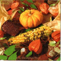 Serwetki do decoupage - jesienne owoce