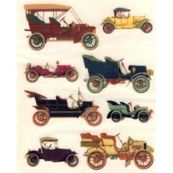 Kalkomania Arte - Stare samochody