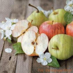 Serwetki do decoupage -jabłka