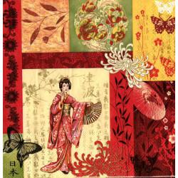 Serwetki do decoupage - Geisha