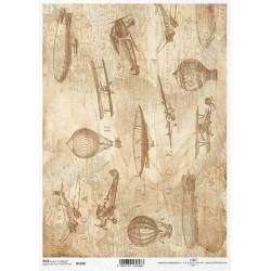 Papier ryżowy ITD Collection 1398 bliżej nieba