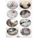Papier ryżowy ITD Collection 1875 kobiety Louisa Icarta
