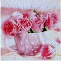 Serwetki do decoupage - różowe róże