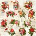 Serwetki do decoupage -róże małe i duże