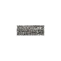Drut Chenille 10 szt x 50 cm - srebrny