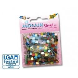 Mozaika lśniąca mix 700 elementów.