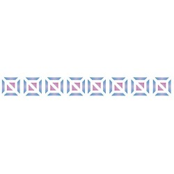 Szablon Bordiurowy 4 mozaika 6 x 28 cm