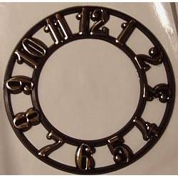 Cyferblat zegarowy z cyframi arabskimi mały