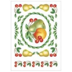 Kalkomania artystyczna - Delicious Fruit Med Box Design
