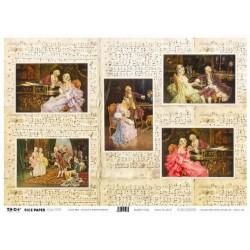 Papier ryżowy TO-DO do decoupage - Casanova's Entertaitments