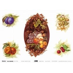 Papier ryżowy TO-DO do decoupage - Flemish Style Fruit