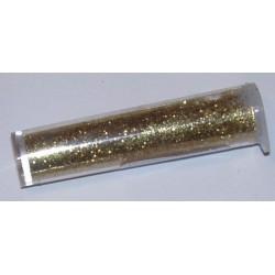 Bardzo drobny brokat 9 gr - jasne złoto