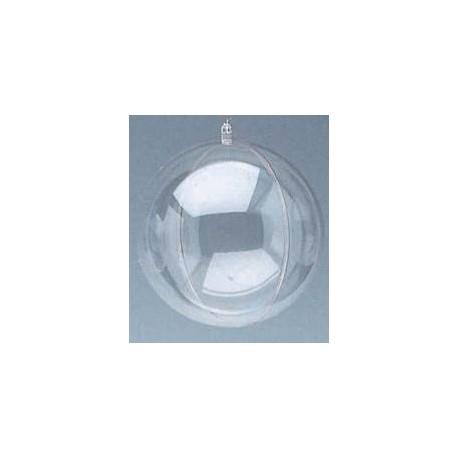Bombka - kula transparentna 100 mm