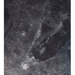 Papier marmur grafit