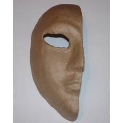 Maska kobieca prawa połówka