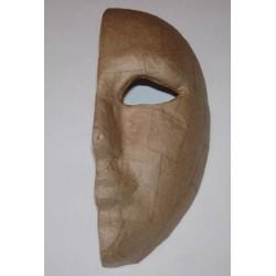 Maska kobieca lewa połówka