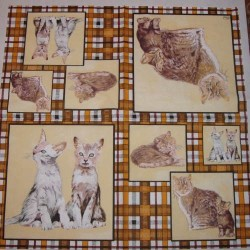 Serwetki do decoupage - dużo kotów