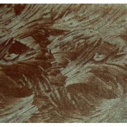 Karton błyszczący, wzorzysty (shining) ciemno brązowy