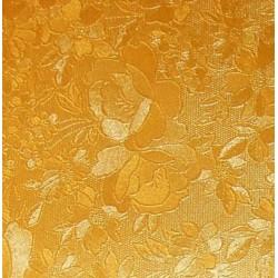 Karton kwiaty metaliczny żółty