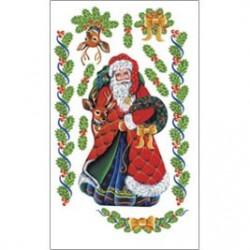 Kalkomania artystyczna - Santa/Rudolph
