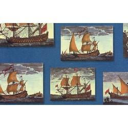 Papier Tassotti do decoupage 50x70 cm - Żaglowce