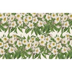 Papier Tassotti do decoupage 50x70 cm - Róża Bożonarodzeniowa