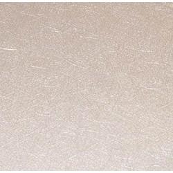 Karton nitki metaliczny biały