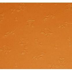 Papier wytłaczany róże pomarańczowy