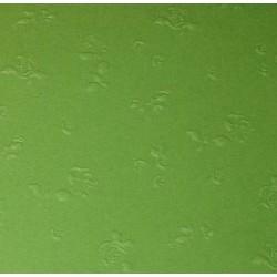 Papier wytłaczany róże zielony