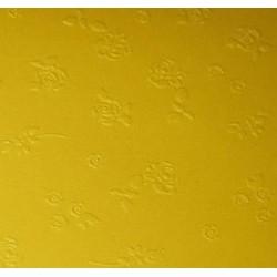 Papier wytłaczany róże żółty