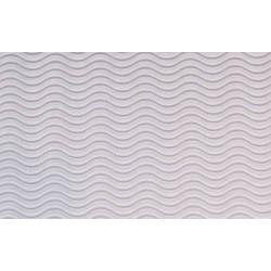 Tektura falista - fala 3D 50 x 70 cm biała