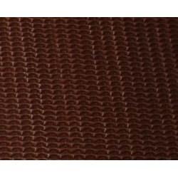 Tektura falista rozciągliwa stretch 25x35 - brązowa