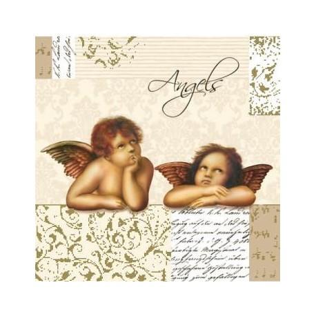 Serwetki do decoupage - Angels Rafaelki
