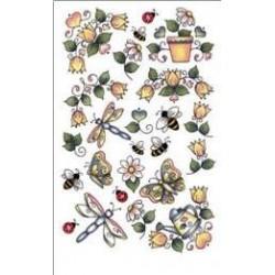 Kalkomania artystyczna - Garden Accents