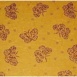 Papier ozdobny z błyszczącymi ozdobami - motyle