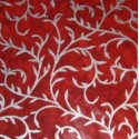 Batik accanthus czerwony