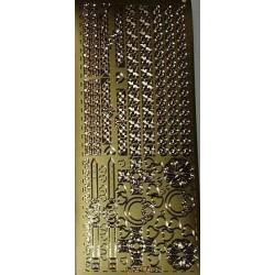 Naklejki samoprzylepne celtyckie ornamenty złote