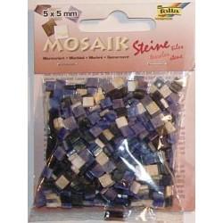 Mozaika marmur niebieska 700 elementów